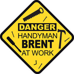 Personalized Handyman Custom Sign