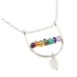 Negativity Erasing Chakra Necklace