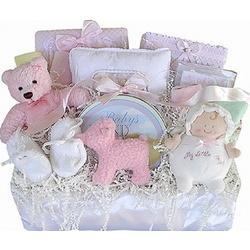 Elegant Treasures Baby Gift Basket