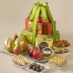 Deluxe Sympathy Gift Tower