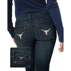 Texas Longhorns Women's Denim Jeans