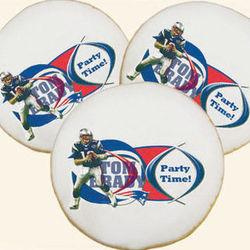 NFL Tom Brady Cookies