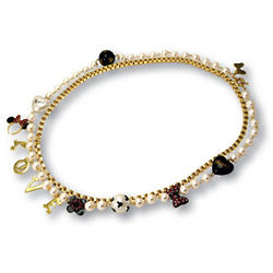 Minnie Mouse Gold-Plated Jewelry