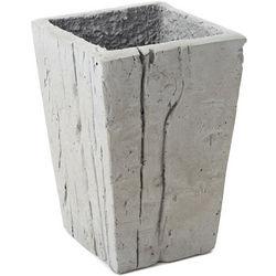 Bark Cast Concrete Vase