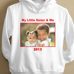 Picture Perfect Kid's Personalized Hooded Sweatshirt