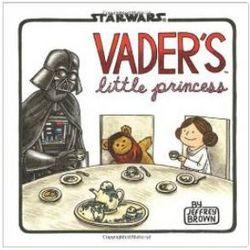 Star Wars Vader's Little Princess Hardcover Book