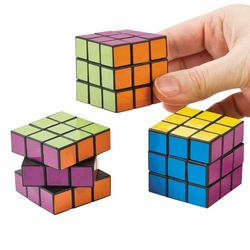 Mini Bright Magic Cubes Puzzle