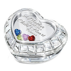 A Mother Holds Her Child's Heart Forever Personalized Music Box