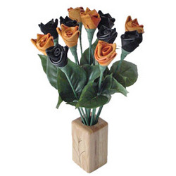 Halloween Leather Roses