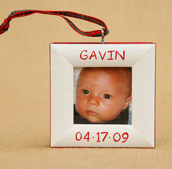 Christmas Birthdate Ornament