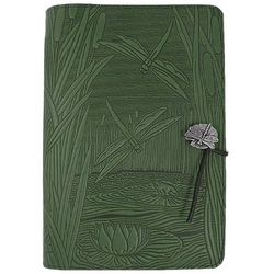 Dragonfly Pond Handmade Leather Journal