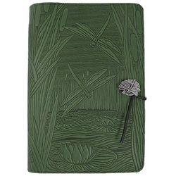Dragonfly Pond Handmade Leather Journal