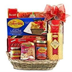 Trip to Italy Gourmet Gift Basket