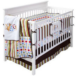 Dr. Seuss ABC Crib Bedding Set