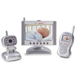 Complete Coverage Baby Video Monitor Set