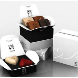 zBox 6 for Weddings French Chocolates Gift Box