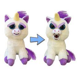 Glenda Glitterpoop Unicorn Growling Feisty Pet Stuffed Animal