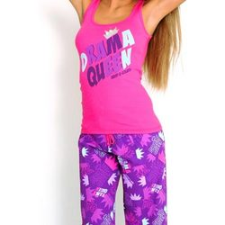 Drama Queen Crown Pajamas