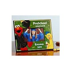 Personalized Elmo Preschool or Kindergarten Graduation Frame