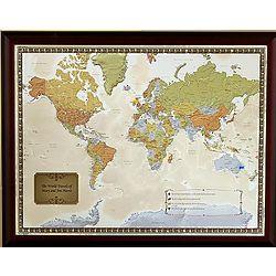 Personalized Travel Destination Maps