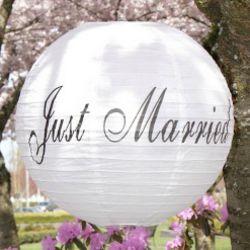 Wedding Reception Paper Lanterns