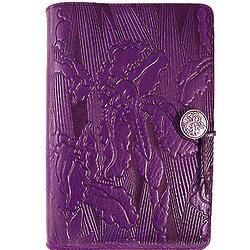 Purple Iris Handmade Leather Journal