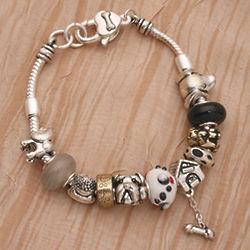 Good Dog Charm Bracelet