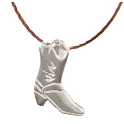 Kick Ass Charm Cowboy Boot Necklace