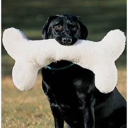 Huge Wooly Dog Bone Pet Toy