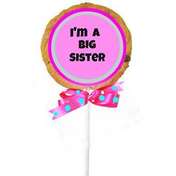 I'm a Big Sister CookiePop