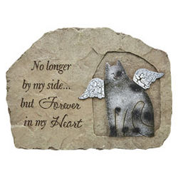 Cat Forever in My Heart Memorial Stone