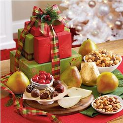 12 Month Light Size Holiday Tower Fruit of the Month Club