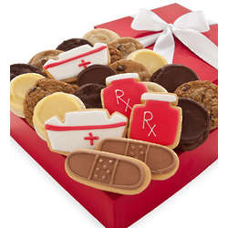Get Well Soon Fancy Cookie Gift Box