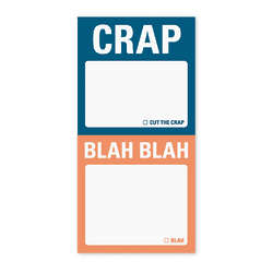 Crap and Blah Blah Mini Sticky Notes