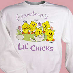 Lil' Chicks Easter Sweatshirt