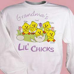 Lil' Chicks Easter Sweatshirt