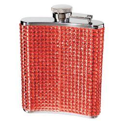 Razzle Dazzle Red Hip Flask