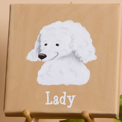 Top Dog Breed Personalized Canvas
