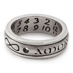 Love Conquers All Sundial Ring