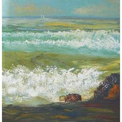 Big Surf Oil Painting