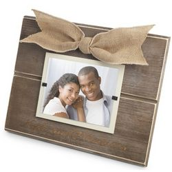 Personalized Large Natural Wood Picture Frame