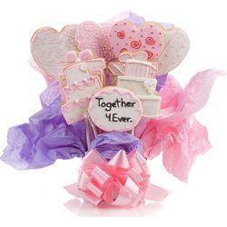Wedding Sugar Cookie Bouquet