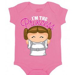 Daddy's Little Princess Star Wars Bodysuit