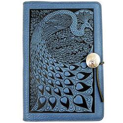 Peacock Design Handmade Leather Journal
