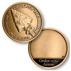 Boy Scout Order of The Arrow Coin