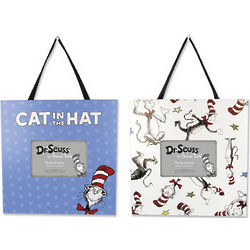 Cat in the Hat Fabric Picture Frame Set