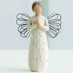 Willow Tree Praying Angel