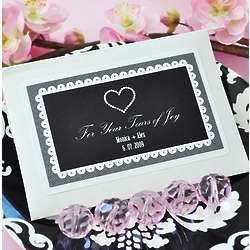 Tears of Joy Personalized Wedding Favors Tissue Packs