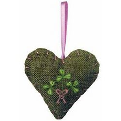 Shamrock Irish Bouquet Hanging Potpourri Sachet