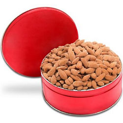 Salted Almonds and Roasted Nuts Gift Tin
